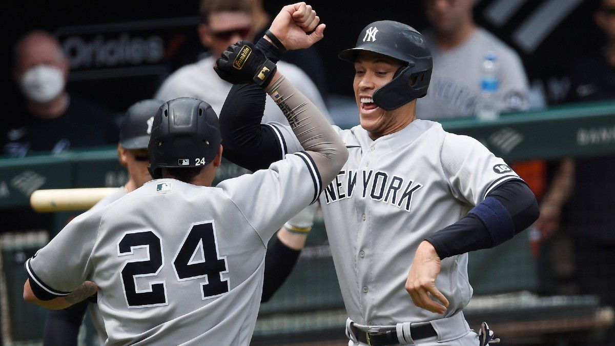 New York Yankees Odds, Promo: Bet $20, Win $200 if the Yankees Get a Hit! article feature image