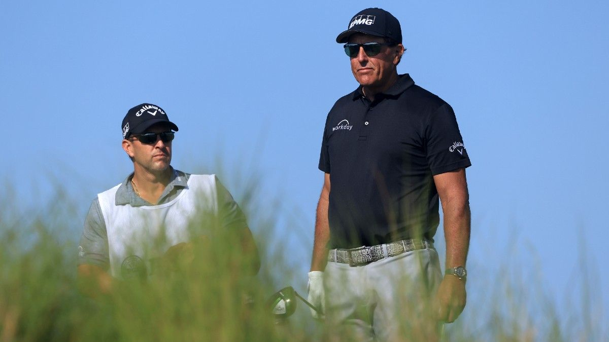 Phil Mickelson's PGA Championship Position Has Sportsbooks Worried article feature image