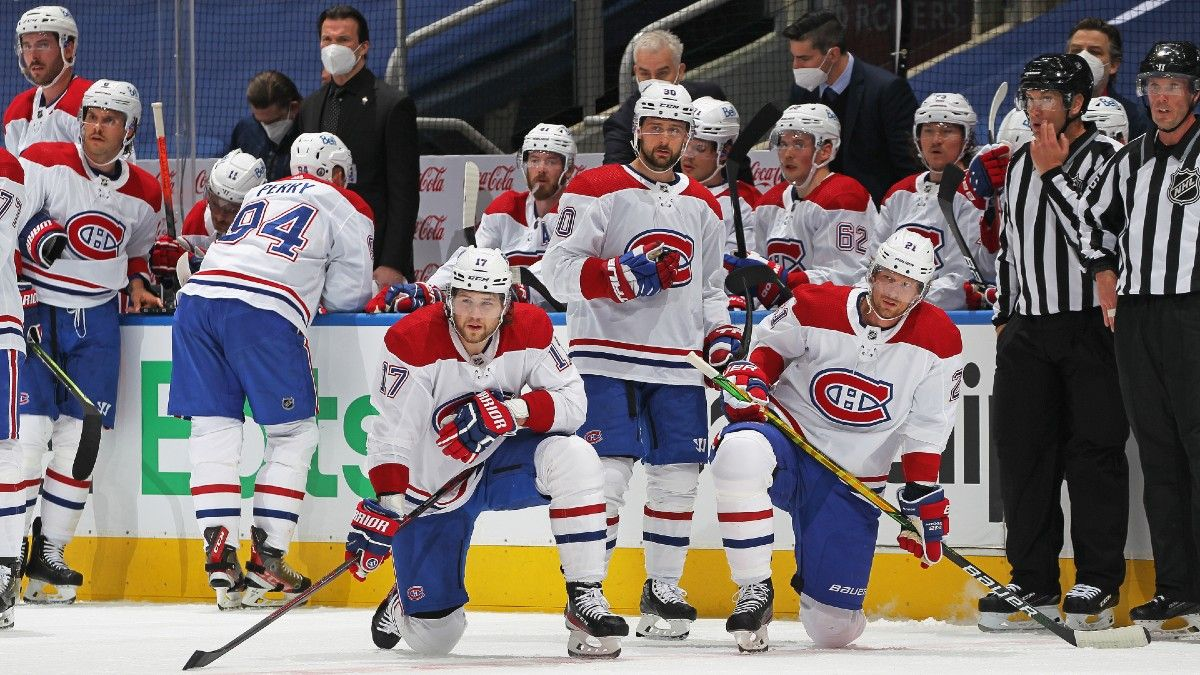 NHL Odds, Picks, Prediction for Canadiens vs. Maple Leafs: Betting Preview for Game 2 in Toronto (Saturday, May 22) article feature image