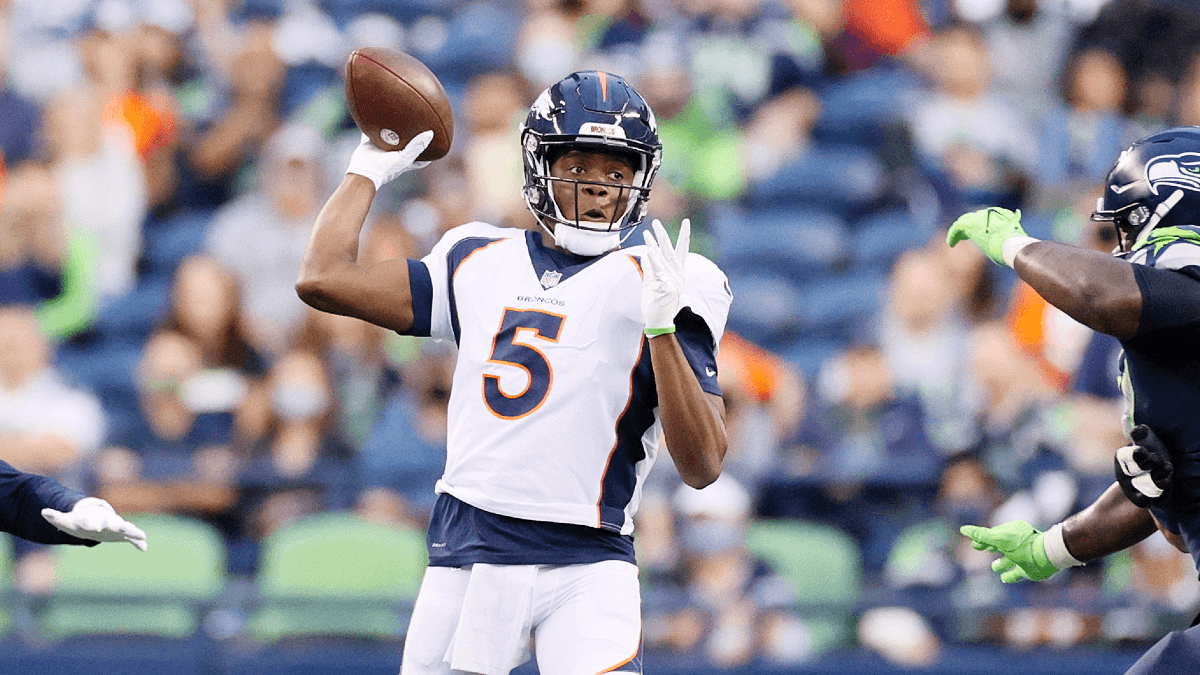 Broncos vs. WFT Odds, Promo: Bet $20, Win $205 if Teddy Bridgewater Completes a Pass! article feature image
