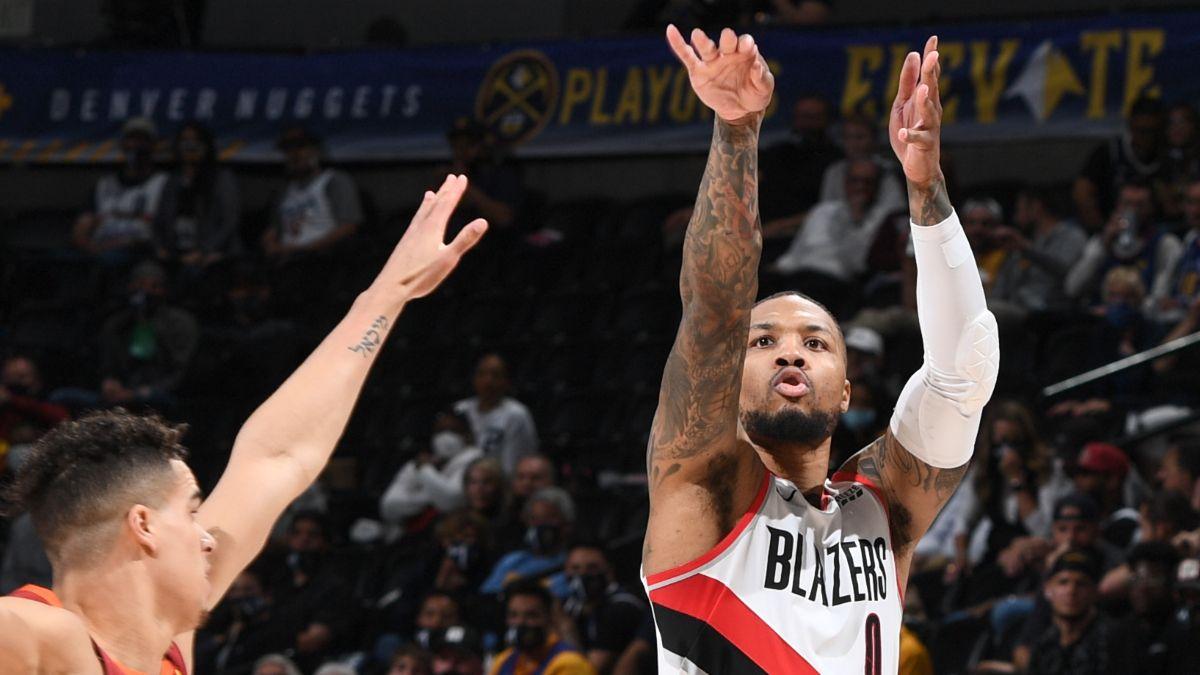 Nuggets vs. Trail Blazers NBA Odds & Picks: Are Sharps Fading Damian Lillard & Nikola Jokic in Portland? (May 27) article feature image