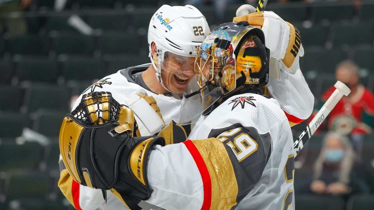 Golden Knights vs. Wild NHL Odds, Picks, Predictions: How to Bet Game 4 in Minnesota (Saturday, May 22) article feature image