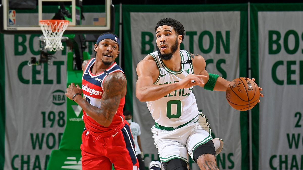Wizards vs. Celtics Odds, Picks, Preview: Jayson Tatum and Co. Have the Edge in Tuesday's Play-In (May 18) article feature image