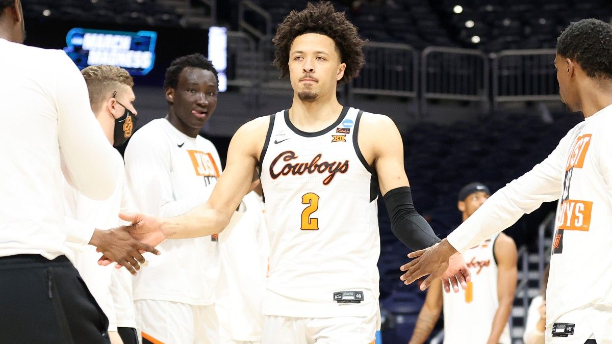 Odds to be First Pick in NBA Draft: Cade Cunningham Massive Favorite Over Suggs, Mobley and the Field article feature image