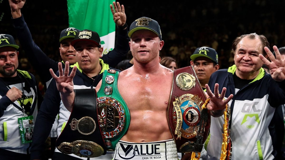 DraftKings Canelo Álvarez Odds, Promo: Get 55-1 Odds on Canelo to Win! article feature image