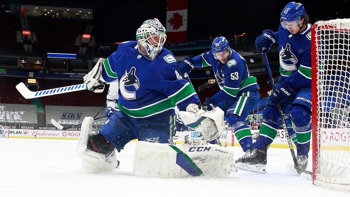 Canucks vs. Jets NHL Odds & Picks: Bet Vancouver to Down Winnipeg (Monday, May 10) article feature image