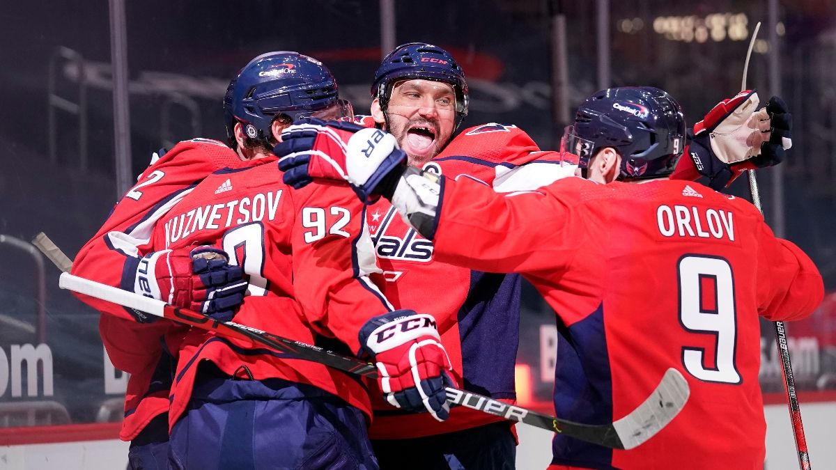 Washington Capitals Odds, Promo: Get $1,000 Risk-Free Plus $100 FREE! article feature image