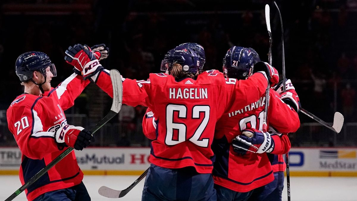 Capitals vs. Bruins Odds, Promo: Bet $20, Win $100 if the Caps Score! article feature image