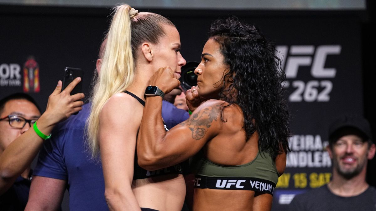 UFC 262 Katlyn Chookagian vs. Viviane Araujo Odds, Pick & Prediction: Why the Wrong Fighter is Favored (Saturday, May 15) article feature image