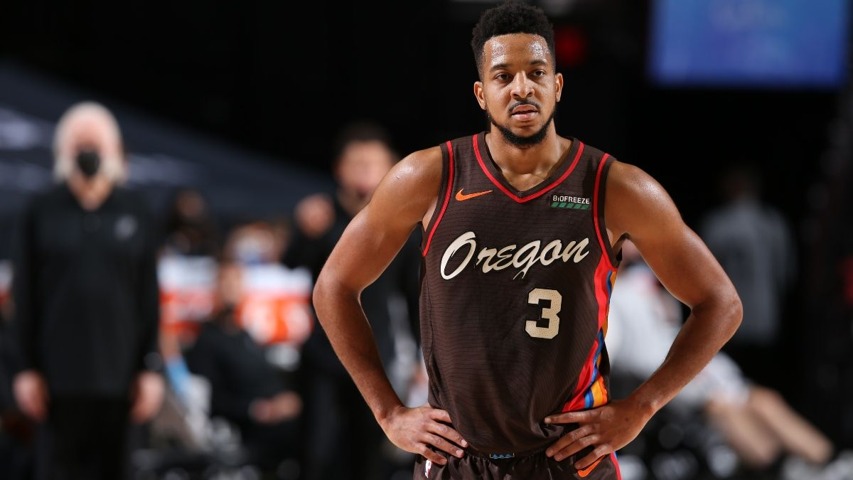 NBA Player Prop Bets, Picks: 2 Picks for Trae Young & CJ McCollum's Regular-Season Finales (Sunday, May 16) article feature image