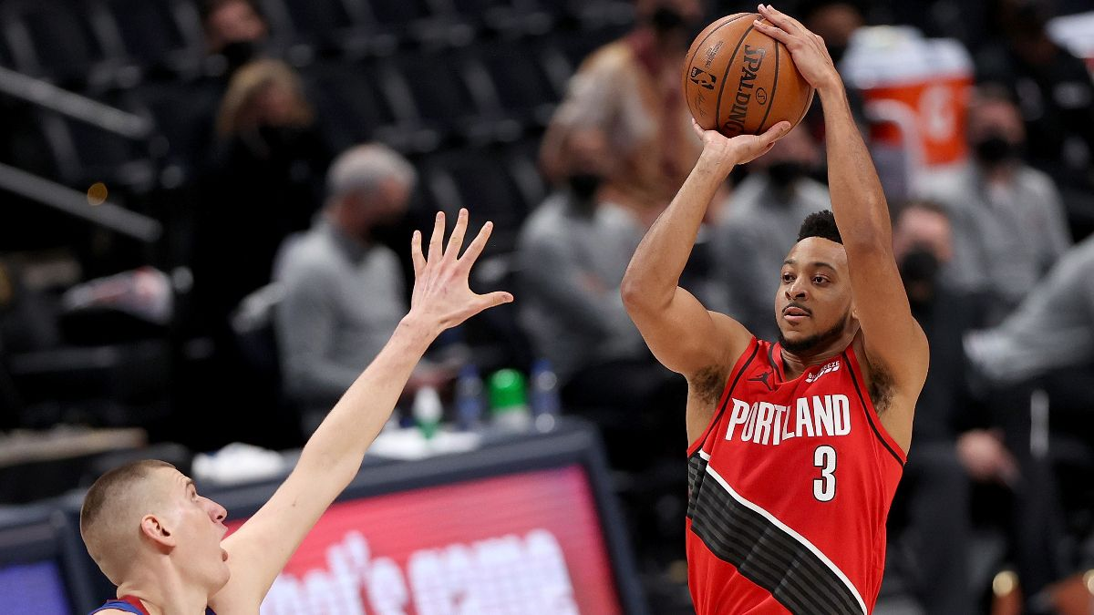 NBA Playoffs Player Prop Bets, Picks: 3 Plays, Including CJ McCollum Against the Nuggets (Monday, May 24) article feature image