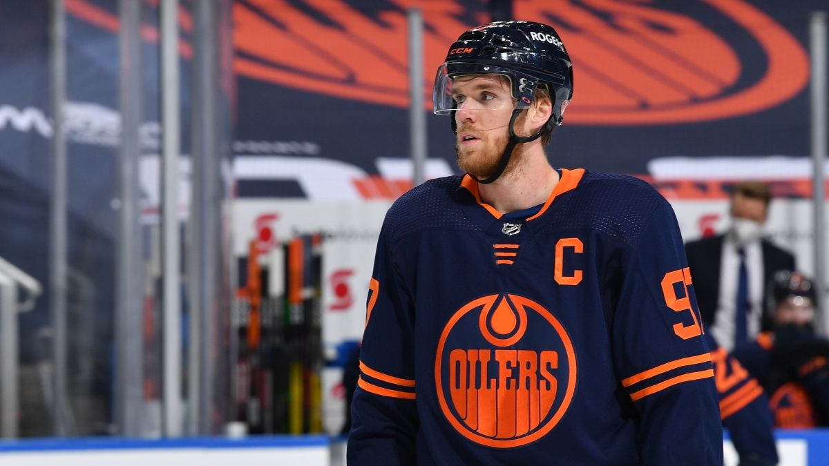 NHL Playoffs Betting Odds, Picks, Predictions: Best Bets for Bruins vs. Capitals, Jets vs. Oilers & More (May 23) article feature image