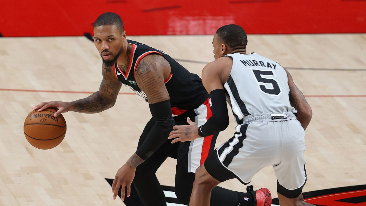 Spurs vs. Trail Blazers NBA Odds & Picks: Back Portland as Better of Teams on Back-to-Back (Saturday, May 8) article feature image