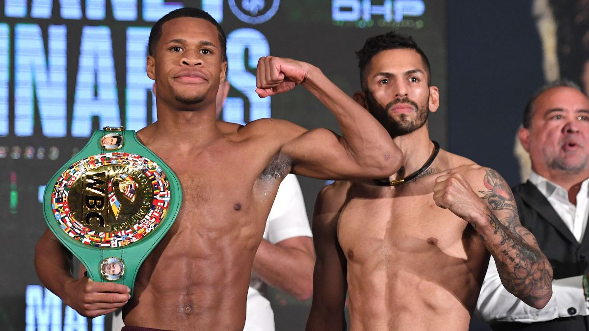 Devin Haney vs. Jorge Linares Odds, Pick & Prediction: How to Back Undefeated Lightweight Champion (Saturday, May 29) article feature image