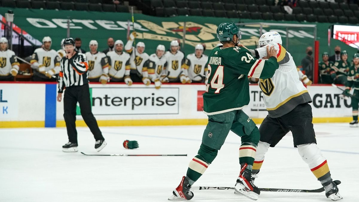 NHL Odds, Picks & Preview for Minnesota Wild vs. Vegas Golden Knights Game 7: How to Bet Friday's Series Finale (May 28) article feature image