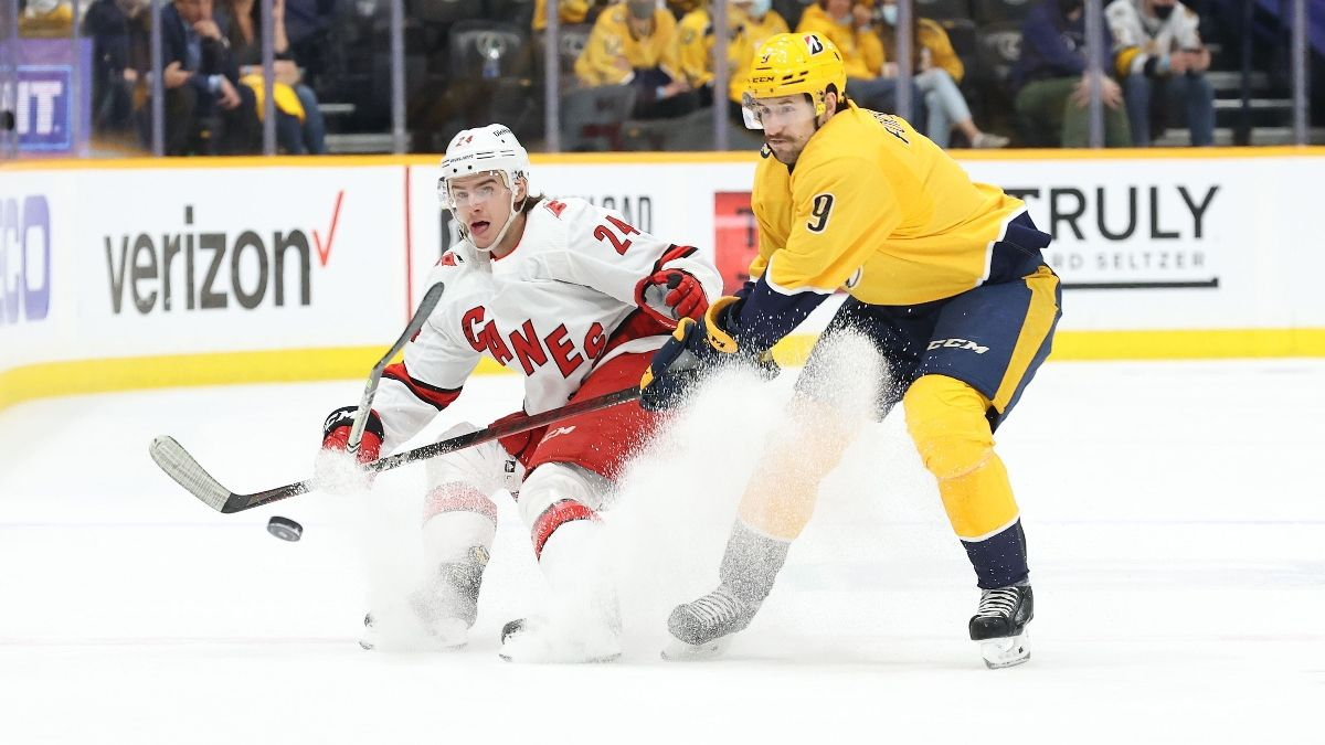 NHL Odds, Prediction, Preview for Hurricanes vs. Predators: How to Bet Game 4 in Nashville (May 23) article feature image