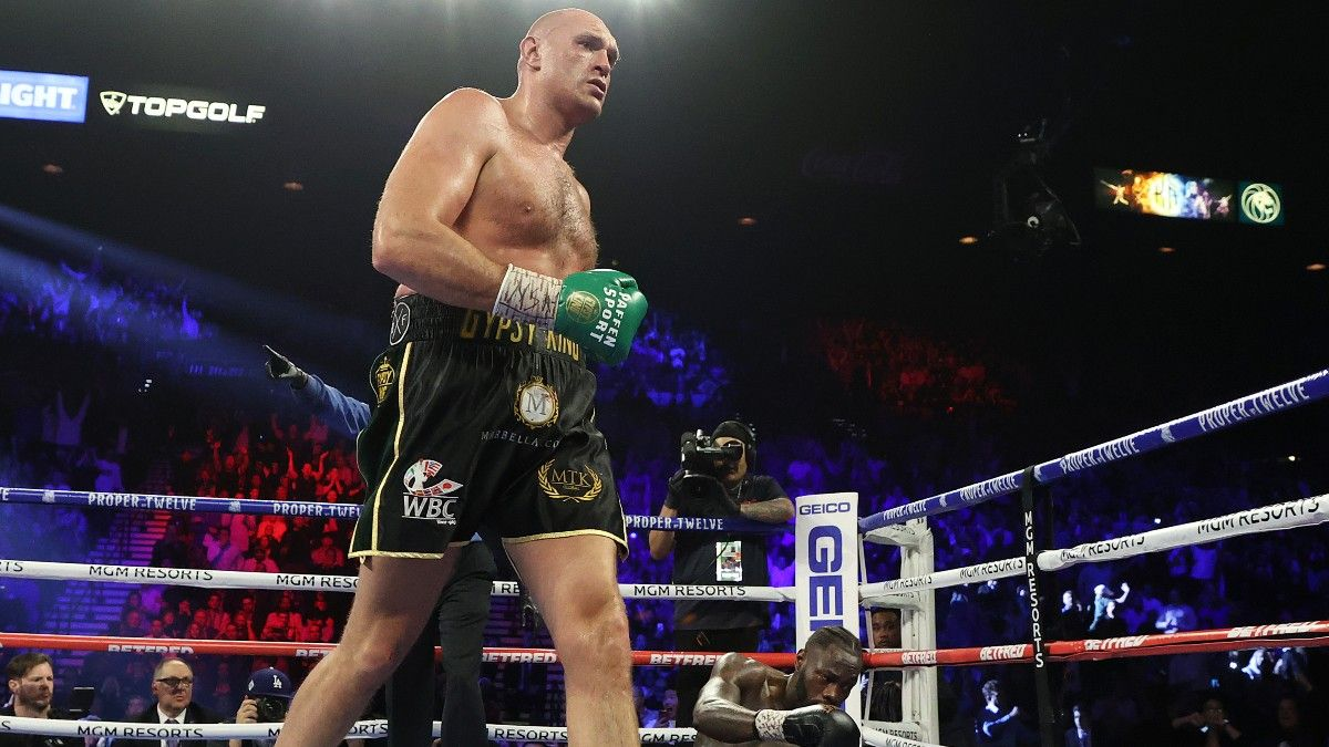 Tyson Fury vs. Anthony Joshua in Limbo Following Court Decision for Deontay Wilder article feature image