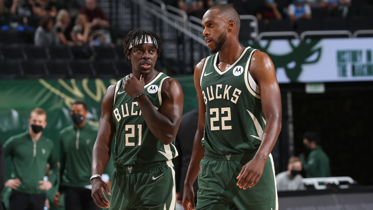 NBA Playoffs Odds, Picks & Predictions for Hawks vs. Bucks Game 5: Which Side Are Sharps Fading on Thursday? article feature image
