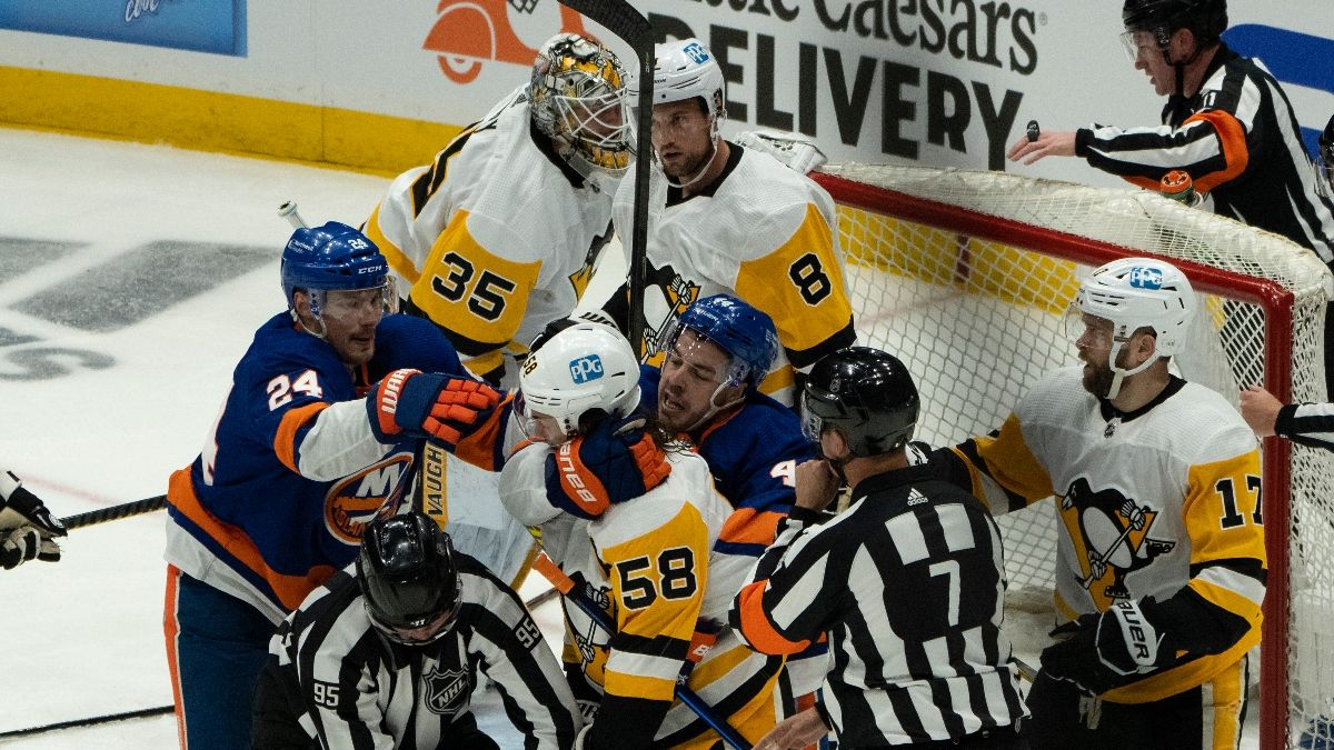 NHL Odds, Picks & Prediction for Pittsburgh Penguins vs. New York Islanders: Betting Preview for Game 4 (Saturday, May 22) article feature image