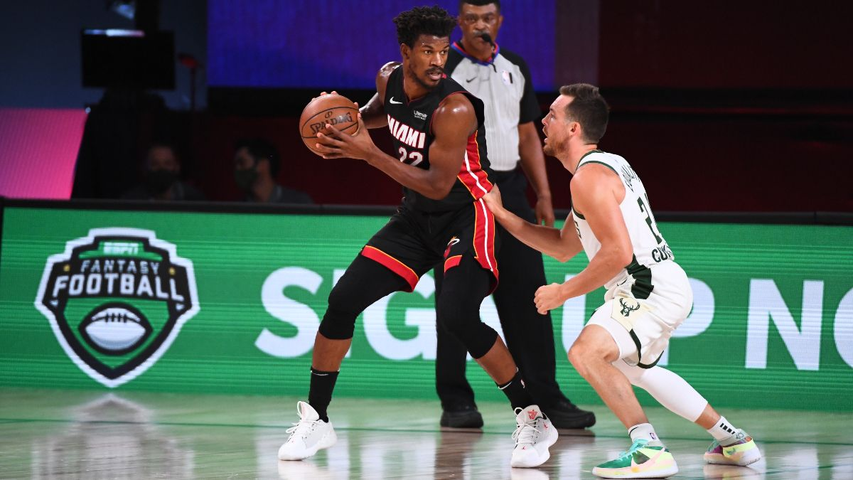 NBA Playoffs Odds, Game 1 Preview, Prediction for Heat vs. Bucks: Can Jimmy Butler Spur Win in Milwaukee? (May 22) article feature image