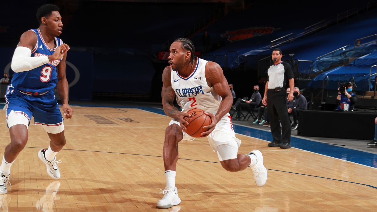 NBA Odds & Picks for Knicks vs. Clippers: Target the Total for Value in Sunday's Matchup (May 9) article feature image