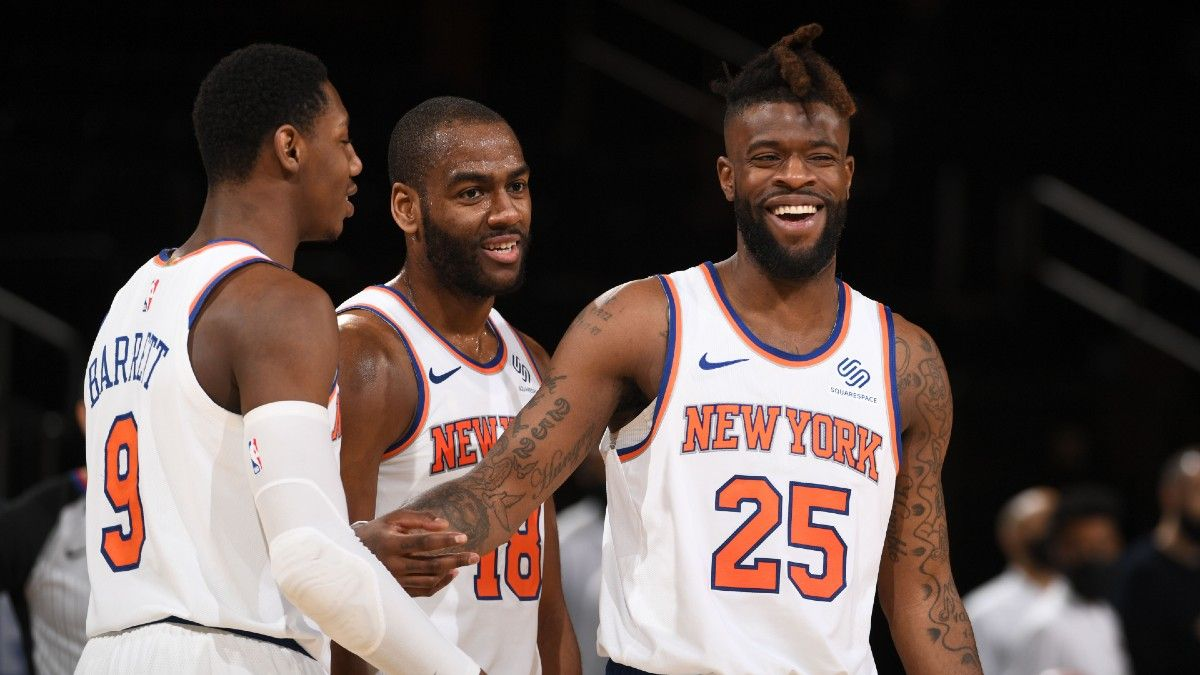 Knicks vs. Hawks First Round Odds, Promo: Bet $20, Win $200 if the Knicks Score a Point article feature image