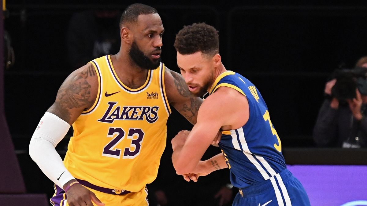 NBA Play-In Odds, Promo: Bet $30, Win $300 on the Lakers vs. Warriors Moneyline! article feature image