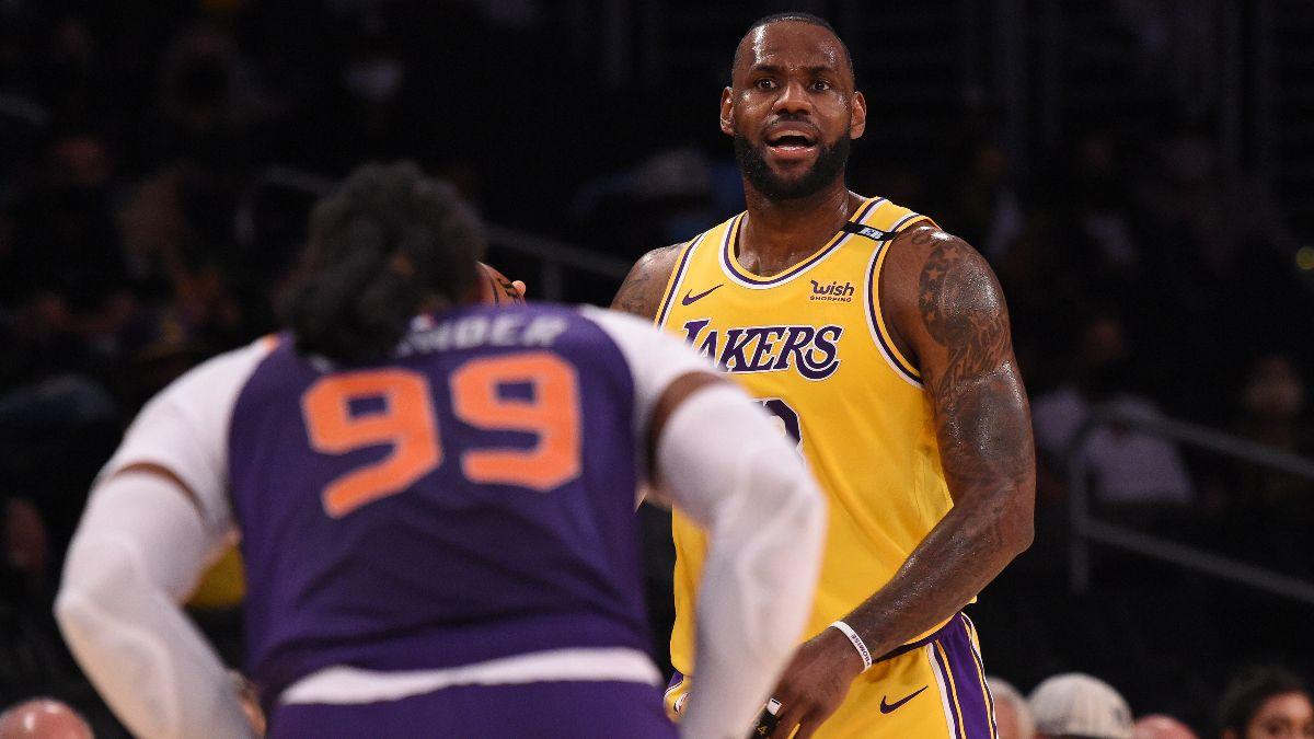 NBA Odds, Preview, Prediction for Lakers vs. Suns Game 5: Can Los Angeles Win Without Anthony Davis? (Tuesday, June 1) article feature image