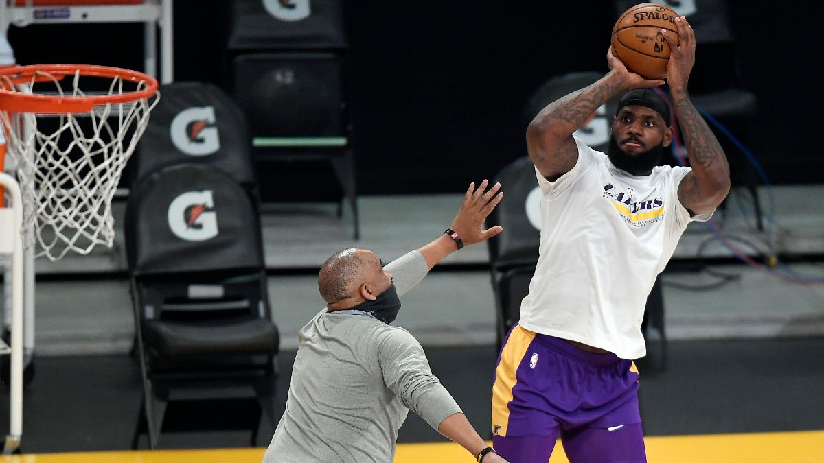 NBA Injury News & Starting Lineups (May 16): Joel Embiid and Ben Simmons Out, LeBron James Questionable Sunday article feature image