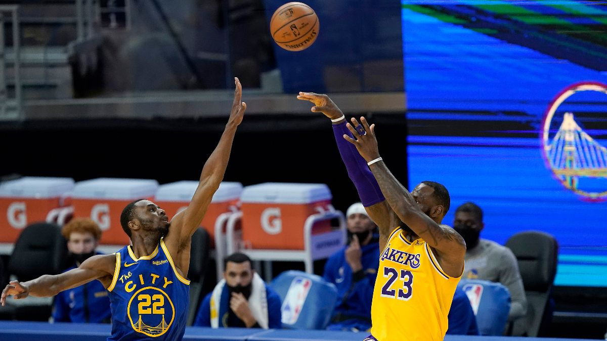 NBA Player Prop Bets, Picks: Can LeBron James Be Superhuman vs. the Warriors? (Wednesday, May 19) article feature image
