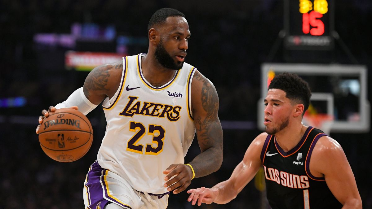 Thursday NBA Odds, Picks, Predictions: Sharp Action Hits Suns vs. Lakers Total (June 3) article feature image