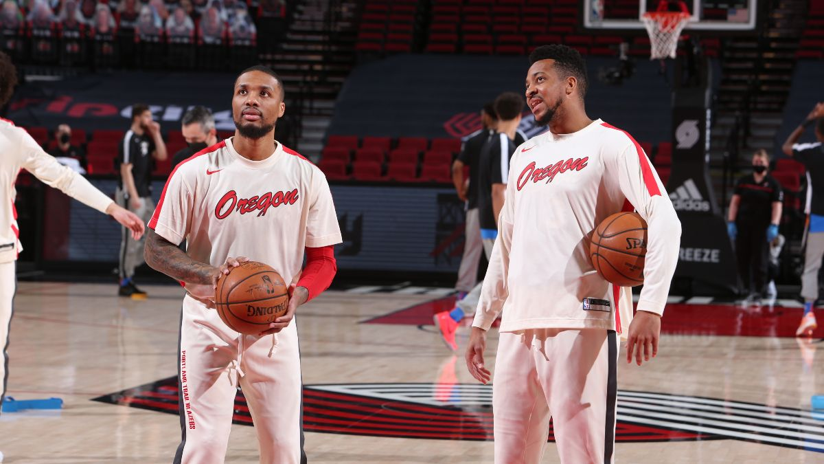 NBA Player Prop Bets & Picks: How to Value CJ McCollum & Damian Lillard (Wednesday, May 12) article feature image