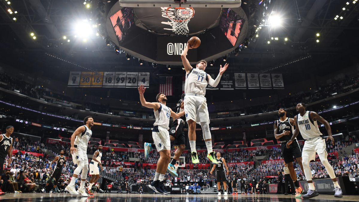 NBA Playoffs Player Prop Bets, Picks: Can Luka and Julius Randle Carry Teams in Game 3? (Friday, May 28) article feature image