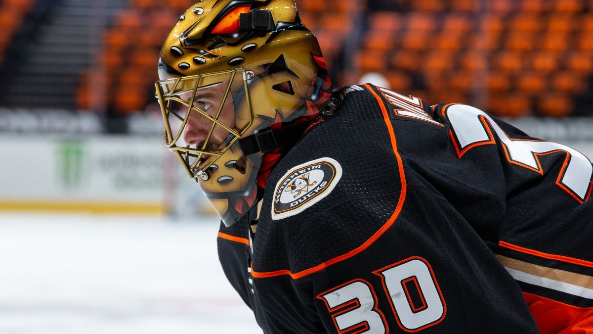 NHL Odds & Pick for Ducks vs. Wild: How to Bet in Ryan Miller's Sendoff (Saturday, May 8) article feature image