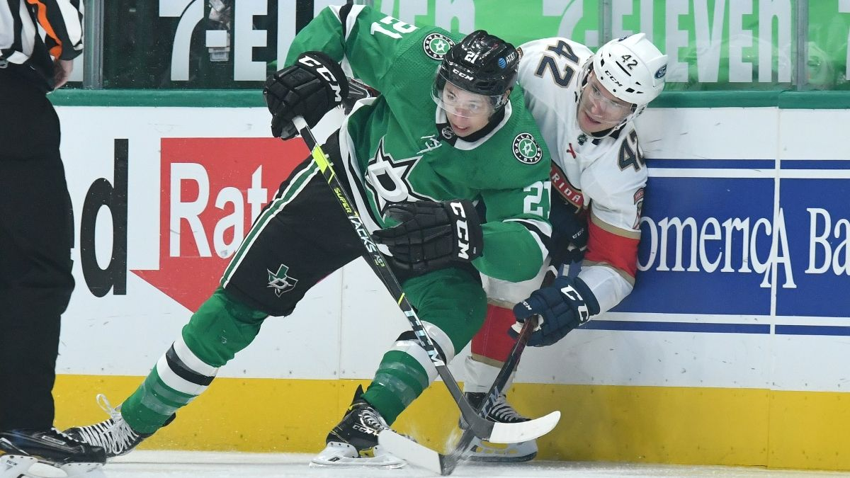 NHL Daily Odds & Picks (Monday, May 3): Stars vs. Panthers & Rangers vs. Capitals article feature image