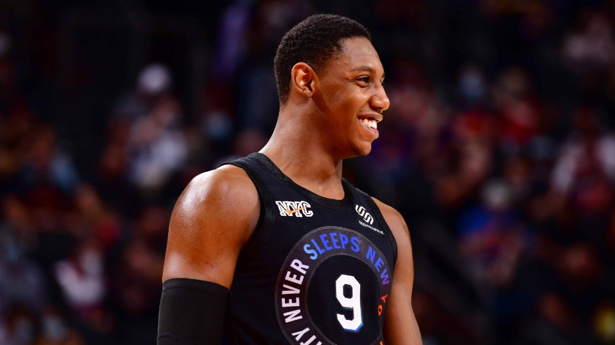 Wednesday NBA Playoffs Betting Odds, Preview for Hawks vs. Knicks: Back Barrett, New York to Even Series (May 26) article feature image