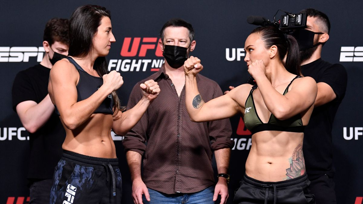 UFC Fight Night Odds, Fights, TV Schedule: Marina Rodriguez Favored Ahead of Match vs. Michell Waterson (Saturday, May 8) article feature image
