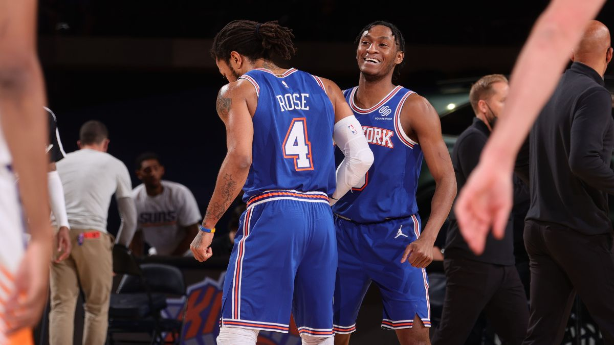 NBA Betting Odds & Picks: Best Bets for Wizards vs. Bucks & Knicks vs. Nuggets (Wednesday, May 5) article feature image