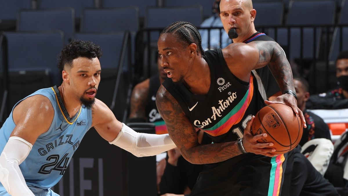 Spurs vs. Grizzlies Odds For NBA Postseason Play-In Tournament (May 19) article feature image