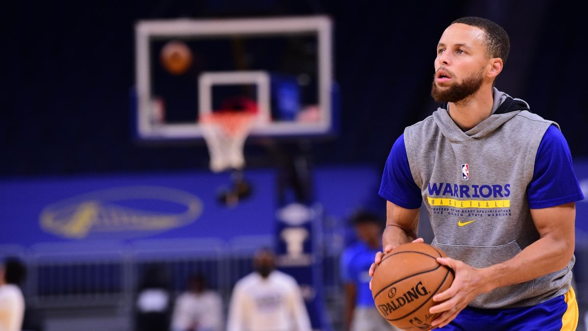 NBA Odds & Picks for Grizzlies vs. Warriors: Are Sharps Fading Steph Curry & Ja Morant?(May 21) article feature image
