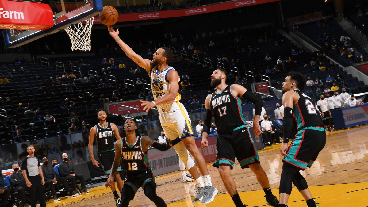 Grizzlies vs. Warriors Odds For NBA Playoffs Play-In Tournament (Friday, May 21) article feature image