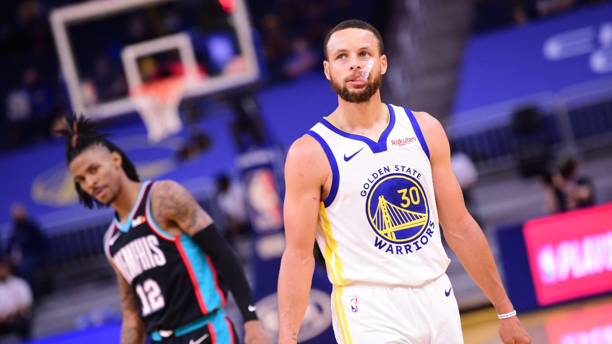 NBA Odds, Picks, Prediction for Grizzlies vs. Warriors: Betting Preview for NBA's Final Play-In Game (Friday, May 21) article feature image