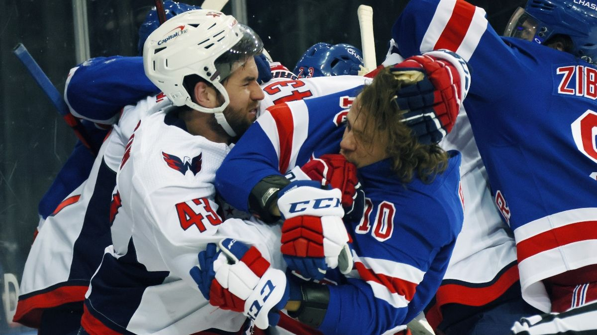 Capitals vs. Rangers NHL Odds & Picks: Value Is on New York Following Brawl (Wednesday, May 5) article feature image