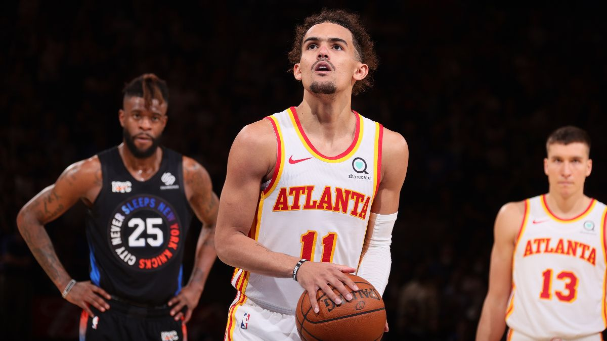 Friday NBA Playoffs Betting Odds & Game 3 Preview for Knicks vs. Hawks: Atlanta's Shooters Hoping To Thrive (May 28) article feature image