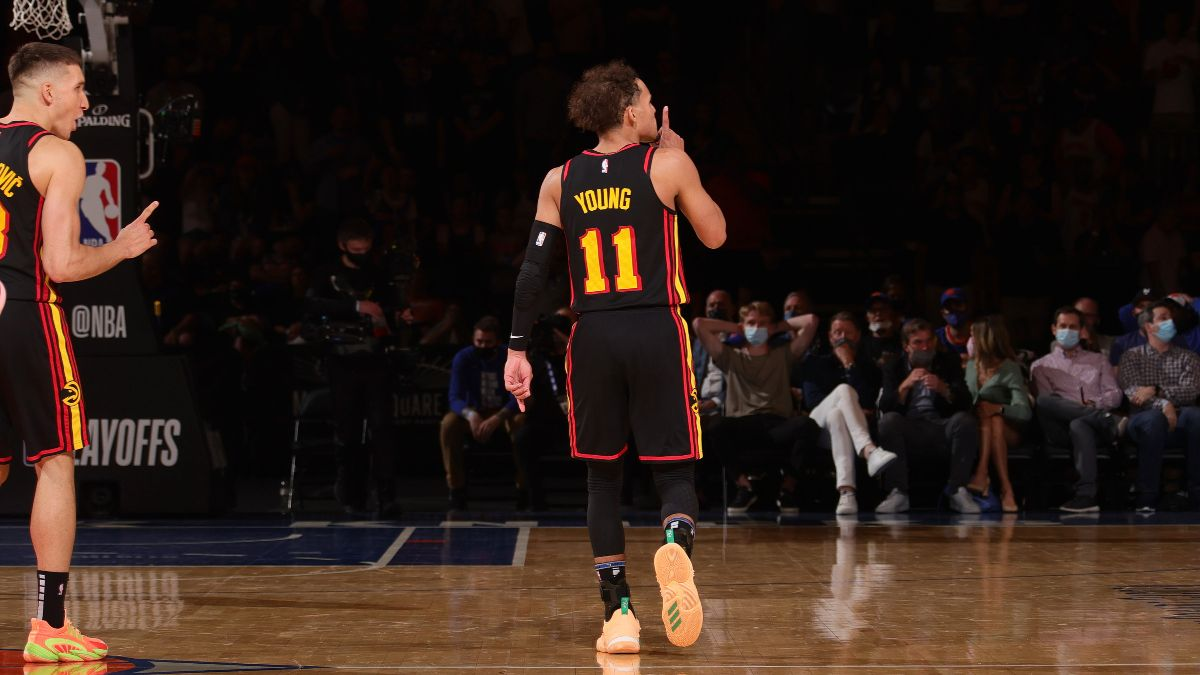 NBA Playoffs Series Odds: Hawks' Odds Jump After Game 1 Thriller vs. Knicks article feature image
