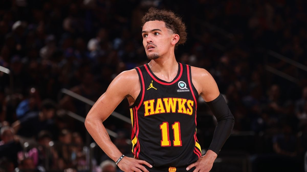Hawks vs. Knicks Odds, Promos: Bet $20, Win $200 if Trae Young Scores a Point article feature image