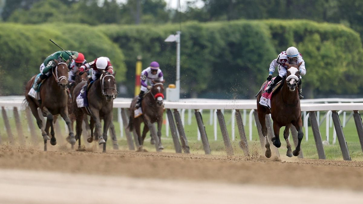 2021 Belmont Stakes Results, Payouts: Essential Quality Wins, Hot Rod Charlie Finishes Second in Final Leg of Triple Crown article feature image