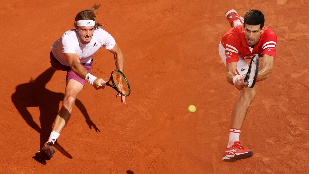 Novak Djokovic vs. Stefanos Tsitsipas Odds, Picks, Betting Predictions: Can Joker Win Second French Open Title? article feature image