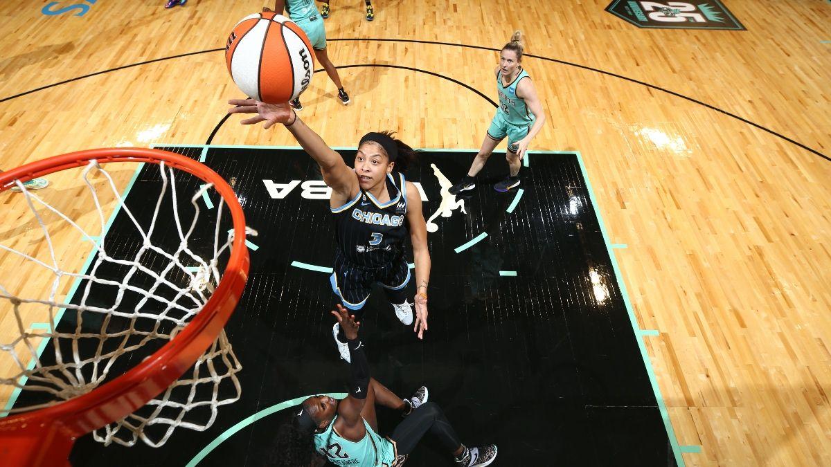 WNBA's Odds, Predictions, Previews: Thursday's Slate Includes Mystics vs. Sparks, Sky vs. Liberty, Wings vs. Fever (June 24) article feature image