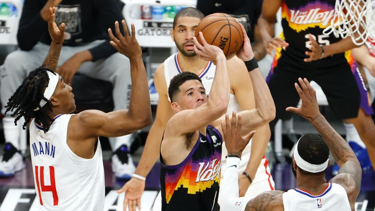 Clippers vs. Suns NBA Betting Picks & Predictions: Our 4 Best Bets for Game 2 (Tuesday, June 22) article feature image